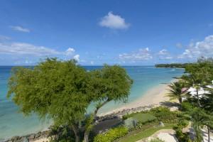 Villas on the beach 402 view