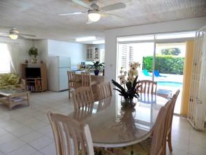 Alamanda villa rental Barbados dining