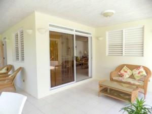 Alamanda villa Barbados patio