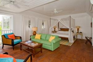 Atlantis Hotel coastal view suite