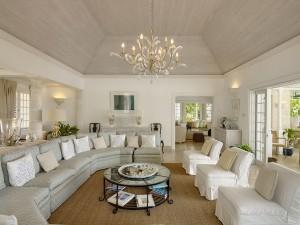 Aurora villa sitting room inside