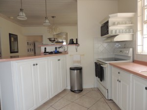 Camden Nook beach house rental kitchen