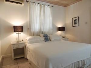 Camden Nook beach house rental master bedroom