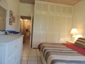 Barefoot Bay Cottage master bedroom