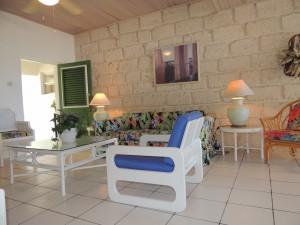Barefoot Bay Cottage living room