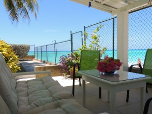 Barefoot Bay Studio patio