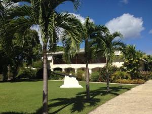 Bayfield House Barbados entrance