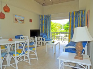 Bushy Park 642 Barbados rental sitting room