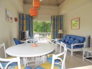 Bushy Park 642 Barbados rental living dining