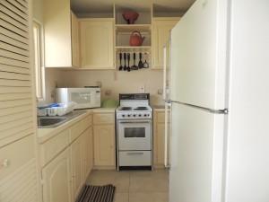 Bushy Park 642 Barbados rental kitchen