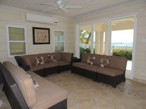 Cane Vale Beach House living room