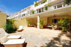 Coco villa rear view