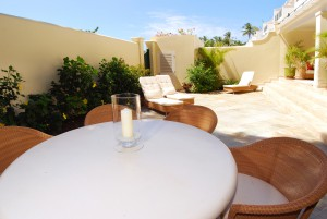 Open air terrace for dining and relaxing