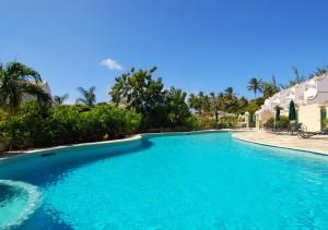 Large shared pool Mullins Bay villasLarge shared pool Mullins Bay villas