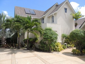 Entrance to Crows Nest, Barbados villa