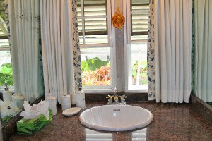 Dudley Wood villa rental Barbados bathroom