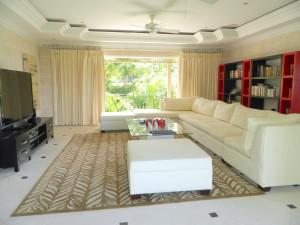 Evergreen TV room