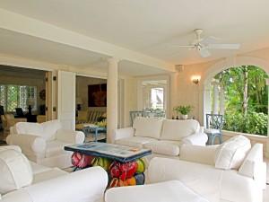 Evergreen villa sitting room inside