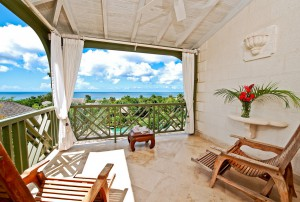 Go Easy Barbados villa balcony
