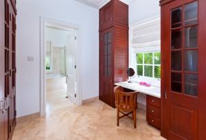 Go Easy Barbados villa dressing room