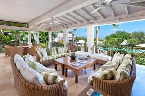 Go Easy Barbados villa patio