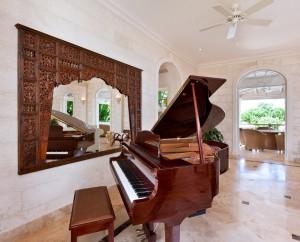 Go-Easy-villa-Barbados-rental-piano
