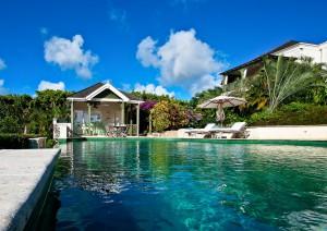 Go Easy Barbados villa pool