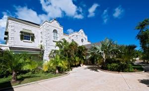Go Easy Barbados villa front view