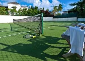 Go Easy Barbados villa tennis