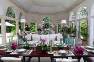 Heronetta villa interior