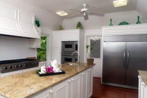 Heronetta villa kitchen