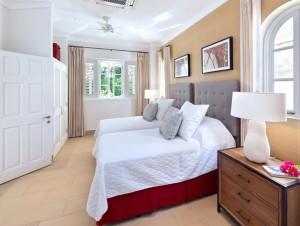 High Cane villa cottage bedroom