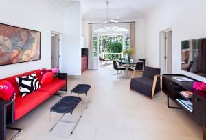 High Cane villa cottage sitting area