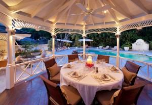 High Cane villa Barbados gazebo