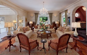 High Cane villa formal sitting room