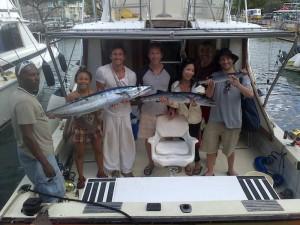 IOU fishing charters Barbados