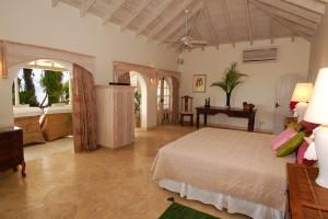 Landfall villa Sandy Lane bedroom 1