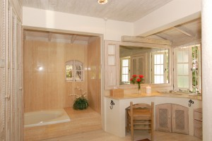 Landfall villa Sandy Lane bathroom