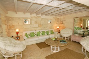 Landfall villa Sandy Lane sitting room