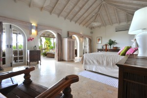 Landfall villa Sandy Lane master bedroom