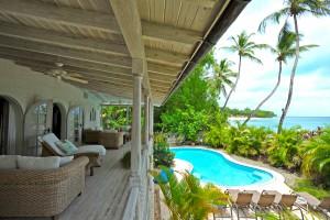 Landfall villa Sandy Lane bedroom view