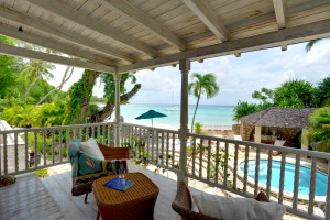 Landfall villa Sandy Lane bedroom balcony