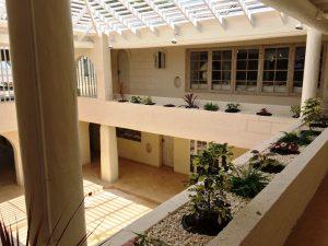 Landfall-villa-rental-Barbados-courtyard