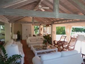 Landmark House living room