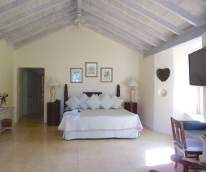 Landmark House master bedroom downstairs