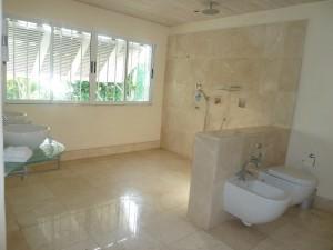 Landmark House master bathroom