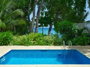 Latitude villa rental Barbados pool