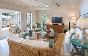 Latitude-villa-rental-barbados-living-room-tv