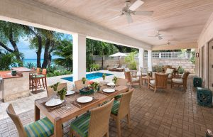Latitude-villa-rental-barbados-patio-dining