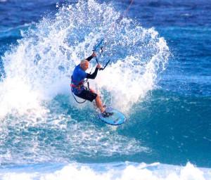 Line Up Kite Surfing Barbados